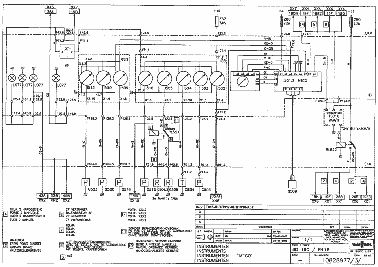 van hool coach manual & wiring diagrams bus & coach van hool t2145 specifications van hool c2045 wiring diagrams 2002 #12