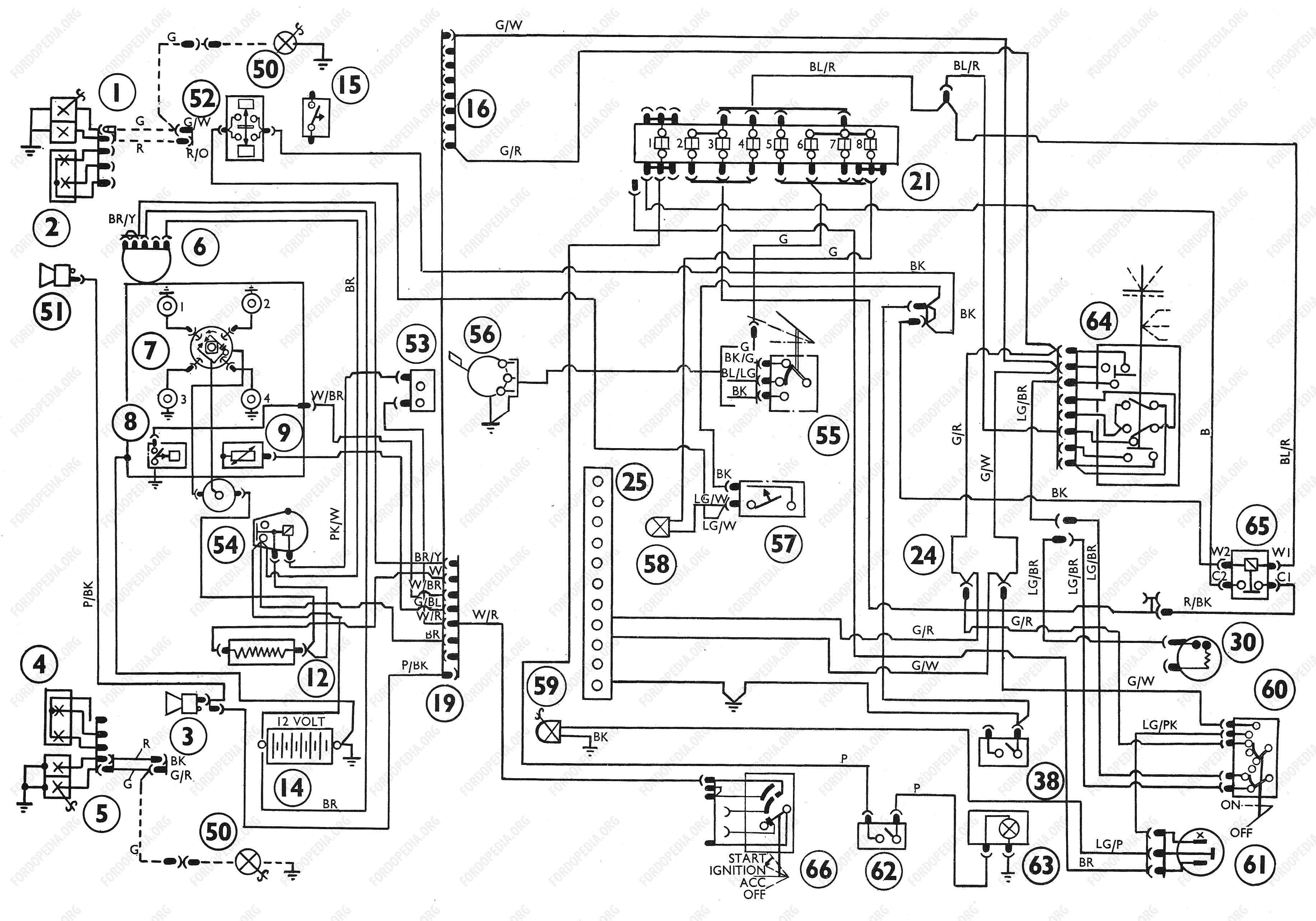 Xs Wiring Diagram Color on