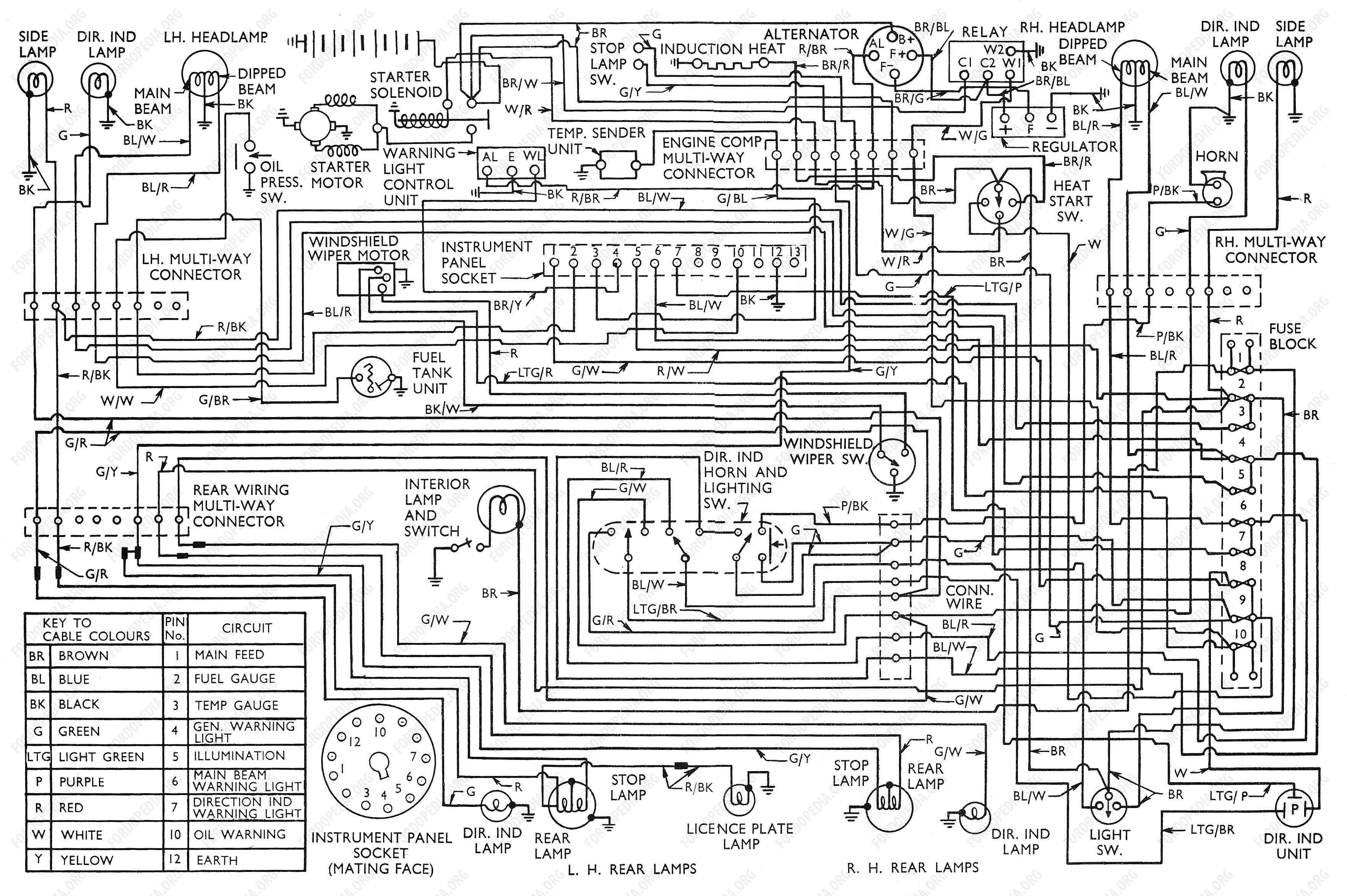 ford bus manuals \u0026 wiring diagrams pdf bus \u0026 coach manuals Ford Transit Wiring Diagram Ford Transit Wiring Diagram #3