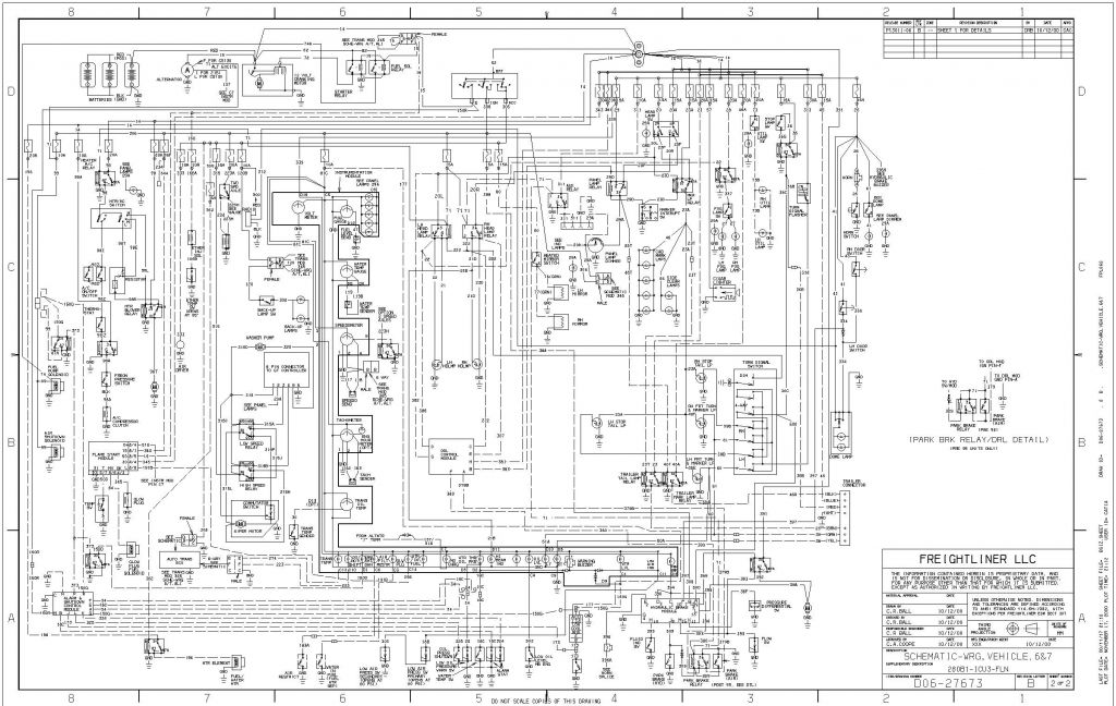 Freightliner Bus  U0026 Coach Wiring Diagrams  Service Manual